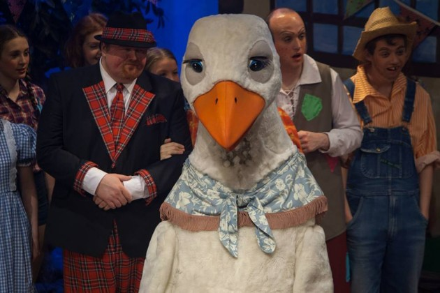 Mark playing Squire in Mother Goose