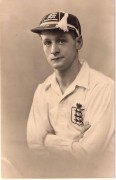 Sir Tom wins his England cap