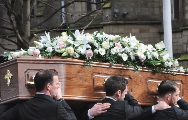 Sir Tom Finney Funeral - 12