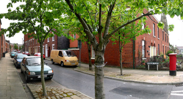 Kenmure Place is being used as a place to park by students and workers