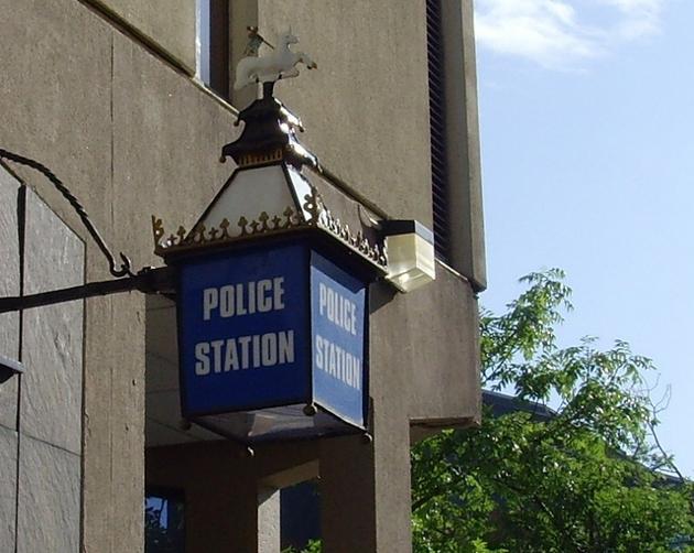polic lamp
