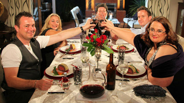 Come Dine With Me is usually five contestants