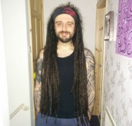 Mike Fallon has spent years growing his dreads