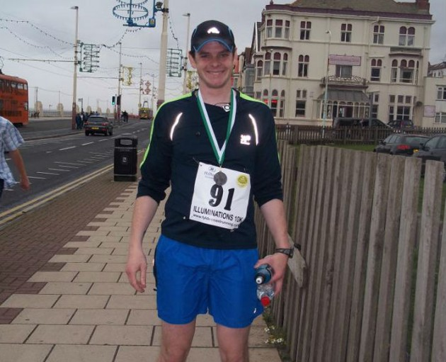 Ben before his diagnosis with bowel cancer