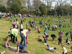 The 11am egg roll at Avenham Park