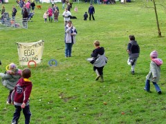 Easter Egg Rolling in Avenham Park is a kids favourite