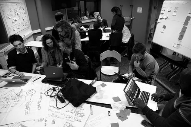 A previous Medialab Session in Paris