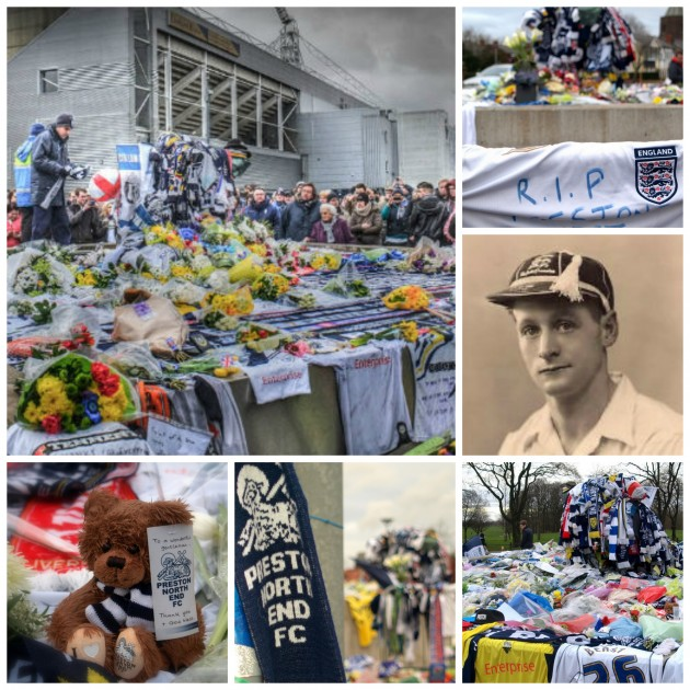 Tributes were paid at Deepdale and beyond to the former PNE and England international