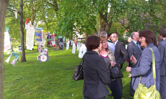 Businesses from across Preston came together in the sunshine