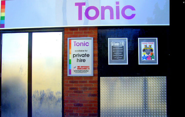 Club Tonic on Hammonds Row