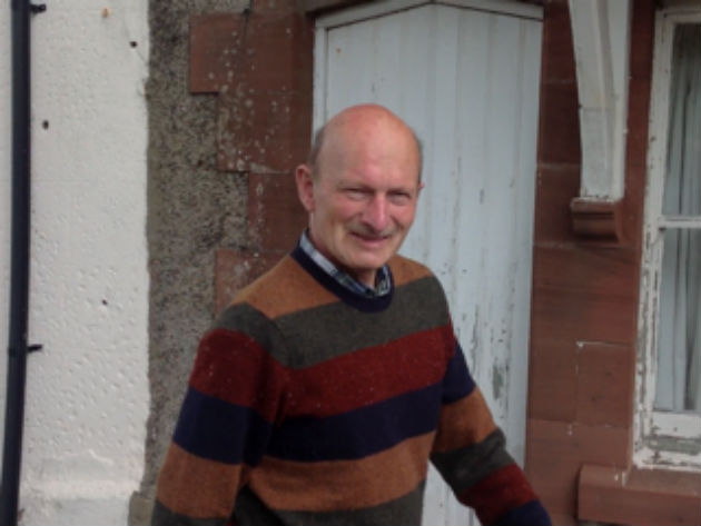 John Allen has not been seen since getting into trouble in water near Ravenglass