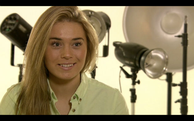Mary-Kate appears on ITV's Granada Reports