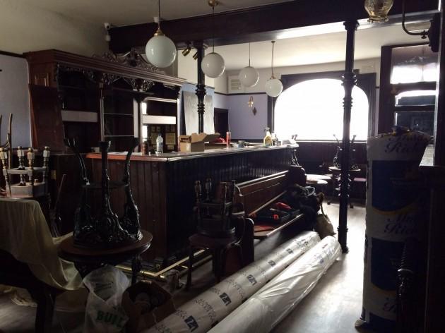 Inside the Moorbrook Inn