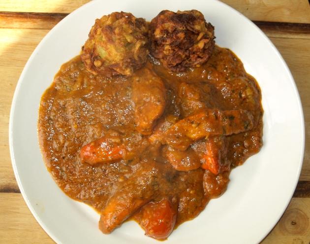 Balti Garlic Chicken