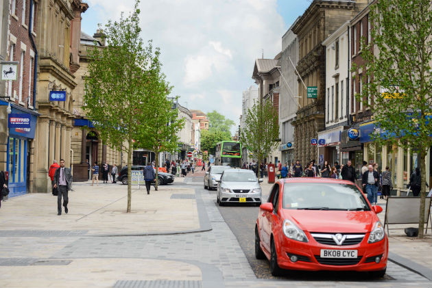 The new look Fishergate