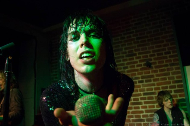 Luke Spillers, frontman of The Struts