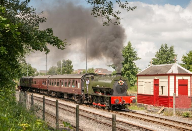 Walkden at the Ribble Steam Railway
