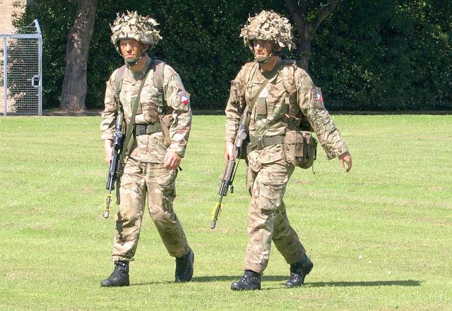 Preston military show