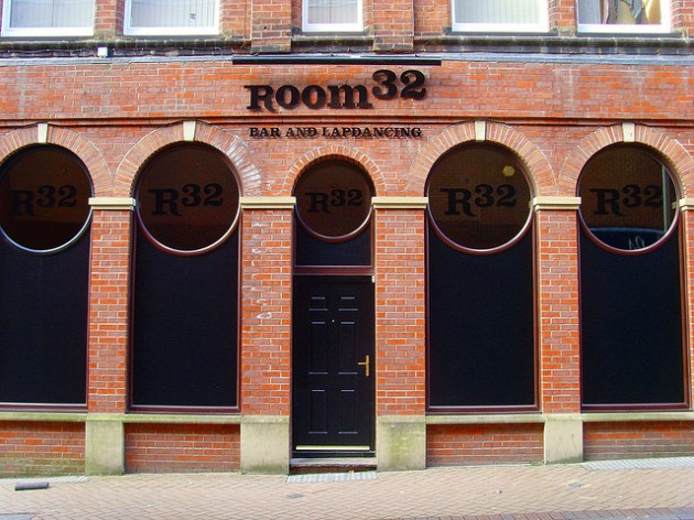 Room 32 lap-dancing club