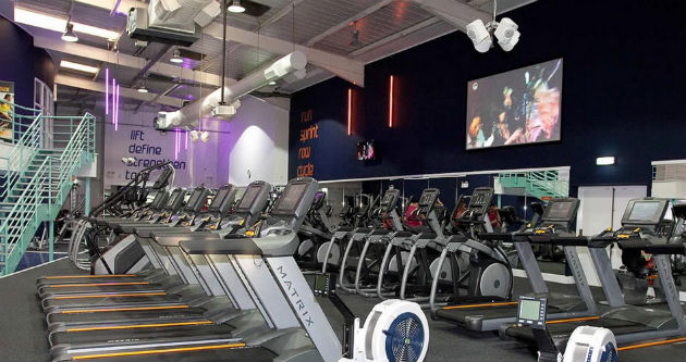 Inside the Rotherham i-motion gym
