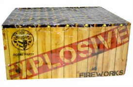 Type of fireworks stolen from an address in Preston