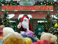 Santa is making his first visit to St George's Shopping Centre on Saturday