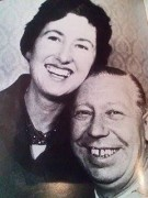 George Formby with his girlfriend Pat Howson