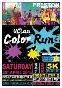 UCLan's Color Run next month will be the first for Preston