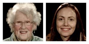 Green candidates: Anne Power and Gemma Christie