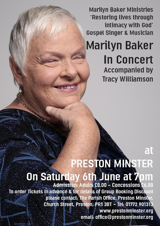 Marilyn Baker Poster