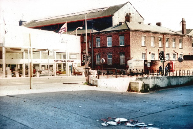Corporation Street with Public Hall, Preston c.1978