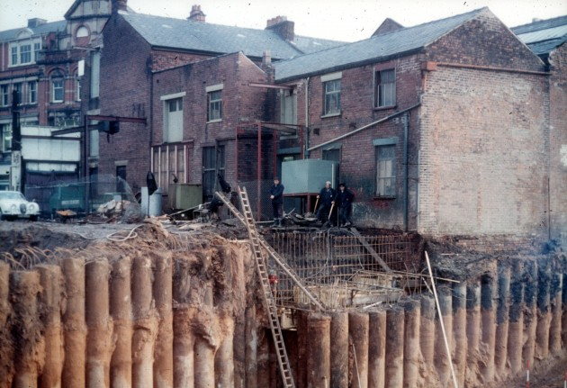 Construction of Tenterfield Street Subway, Preston c.1969
