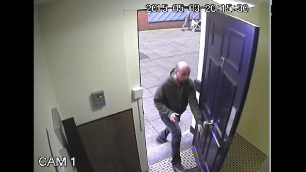 Man wanted by police in connection with the incident