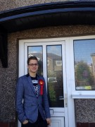 Josh Brandwood, newly elected Morecambe town councillor