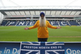 Roop is a familiar face at PNE games home and away