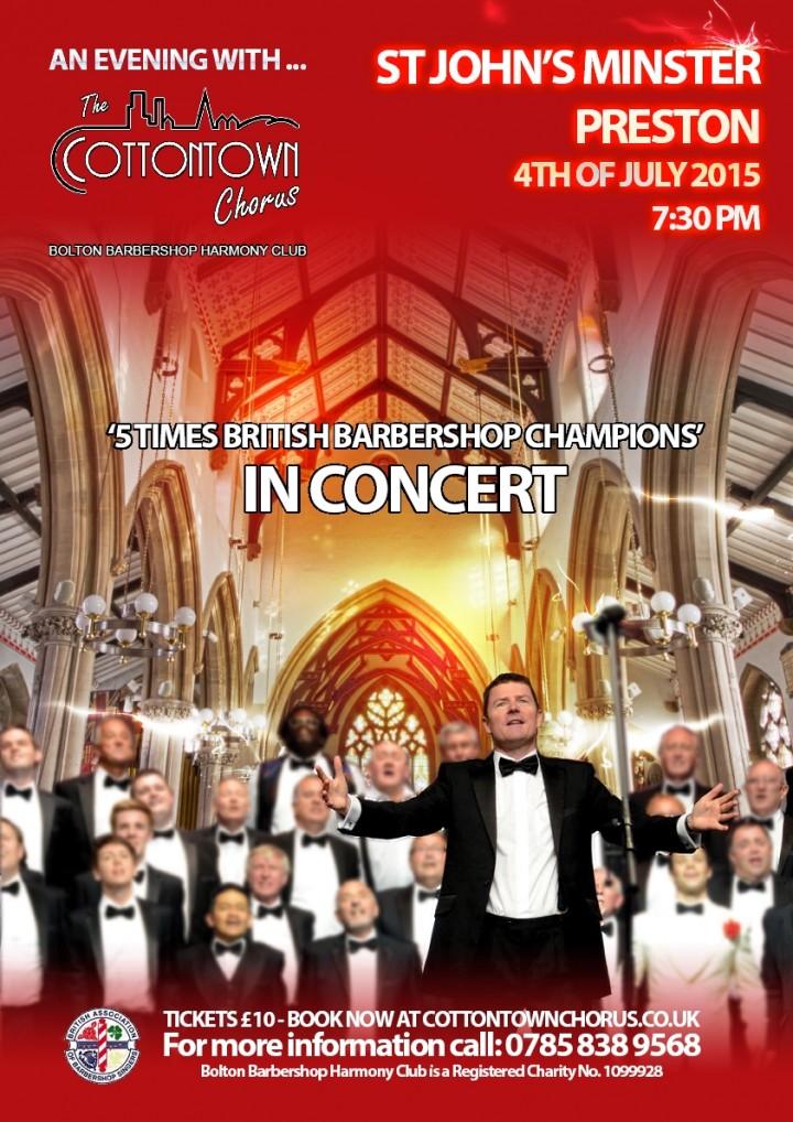 Cotton Town Chorus Poster
