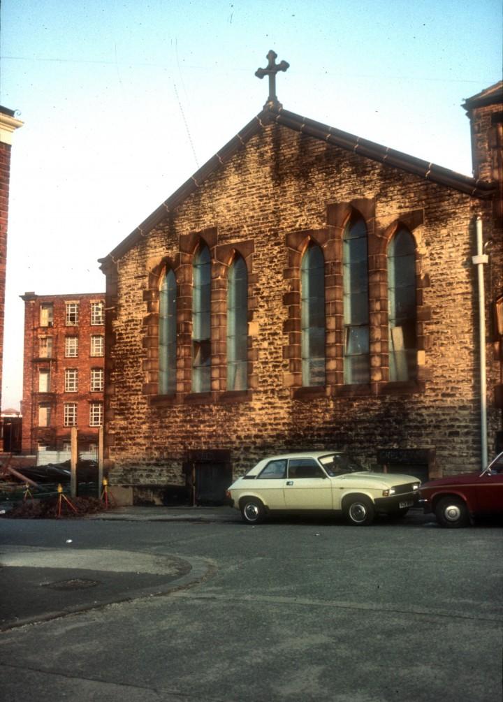 St. Walburge's School, Weston Street, Preston c.1979