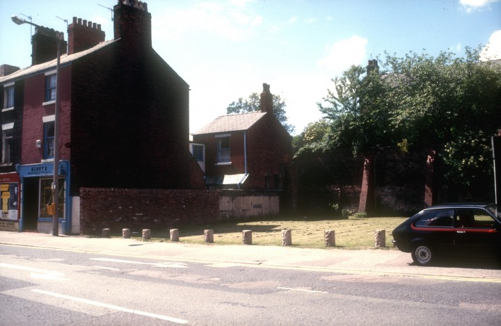 Houses between Church Street & Percy Street, Preston c.1976