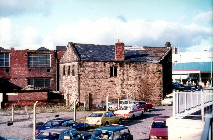 Former Canal Warehouse, Corporation Street, Preston c.1978