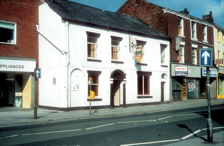 The North Western public house., Church Street, Preston c.1975