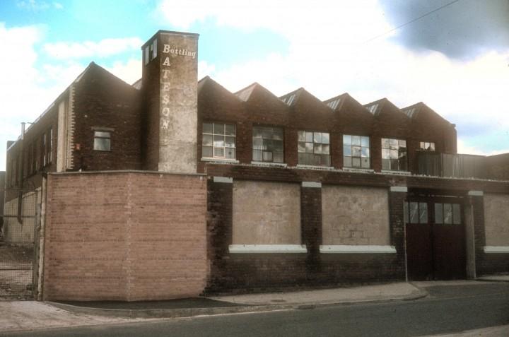 Kent Street Mill, Kent Street, Preston c.1978
