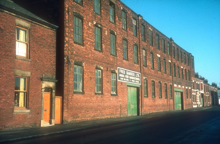 Moor Park Mill, St. Georges Road, Preston c.1970