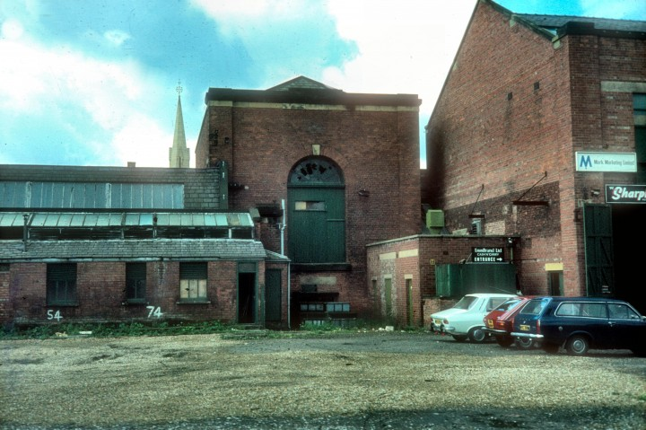 Former Horrockses Engine House, Yard Works, Stanley Street, Preston c.1976