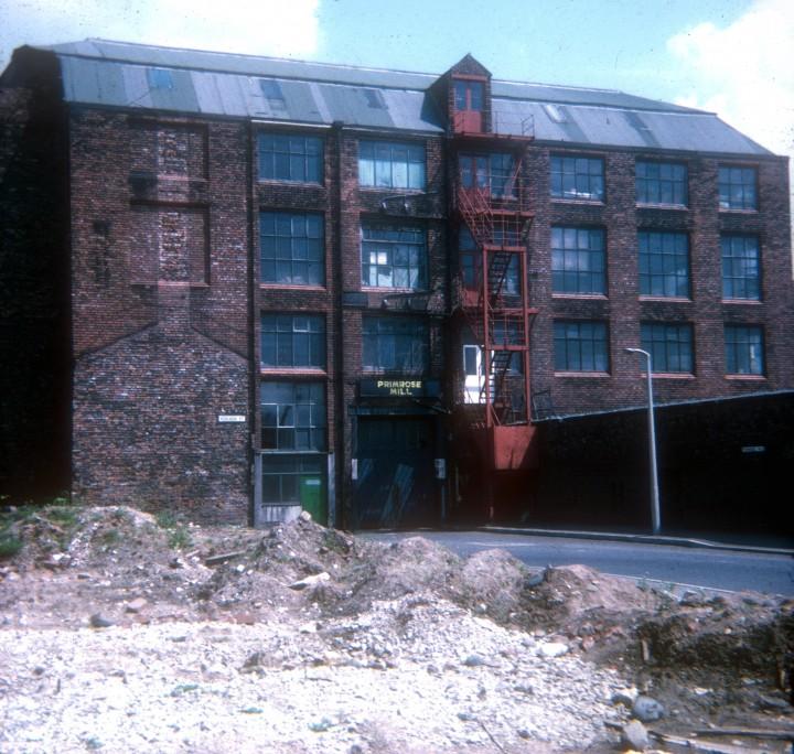 Primrose Mill off London Road, Primrose Hill, Preston 1971