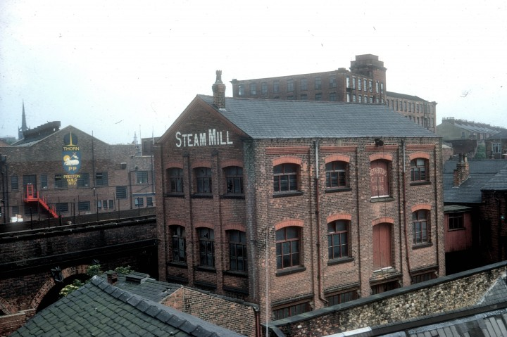 Steam Mill and Thorn Company, Fylde Road, Preston 1972