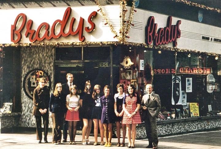 Bradys Record Shop, Crystal House, Preston