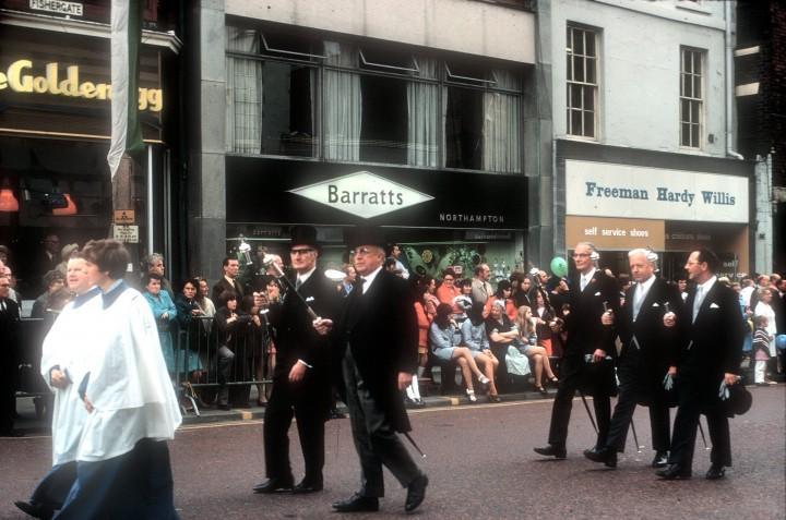 Guild Parade, Fishergate, Preston 1972