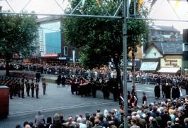 Guild Parade, Market Place, Preston 1972