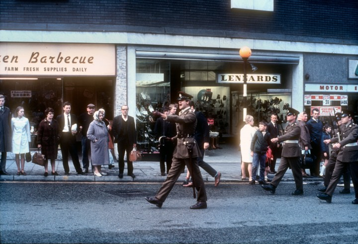 Guild Parade, Friargate, Preston 1972