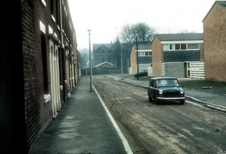 Larkhill Street, Preston c.1966